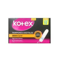 TAMPONES DIGITALES KOTEX