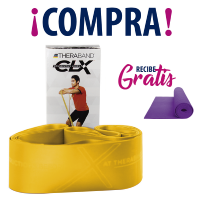 THERABAND® CLX YELLOW + TAPETE YOGA