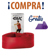 THERABAND® CLX RED + TAPETE YOGA
