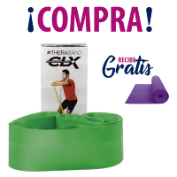 THERABAND® CLX GREEN + TAPETE YOGA