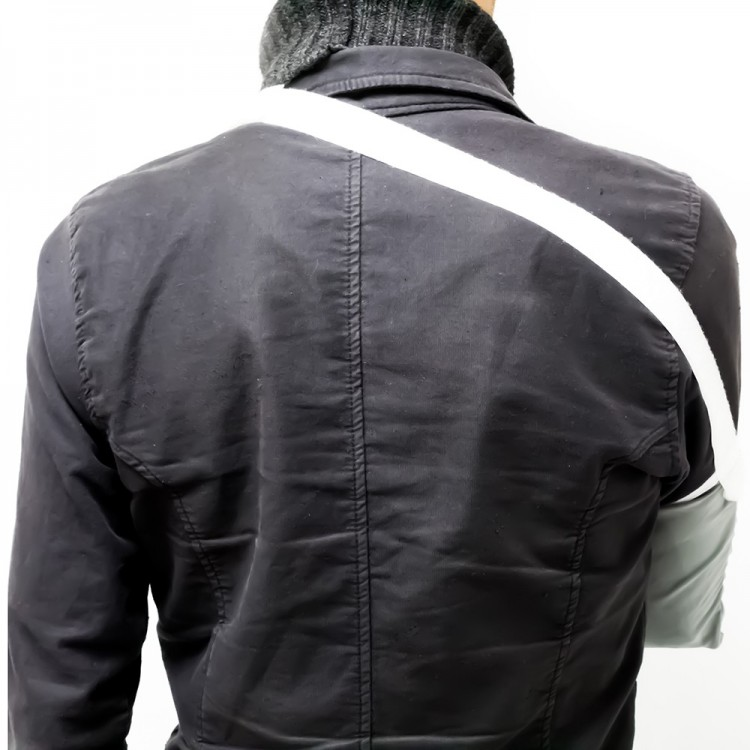 CABESTRILLO RECOVERY GRIS XL
