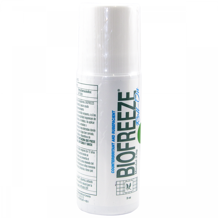 BIOFREEZE ROLL-ON X 3 OZ