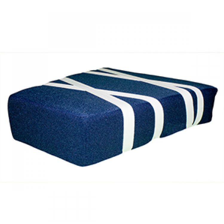 ALMOHADA TRIANGULAR AZUL
