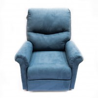 POLTRONA RECLINABLE AZUL